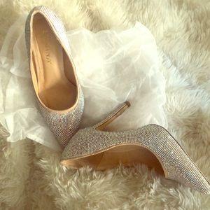 Glam diamond heels
